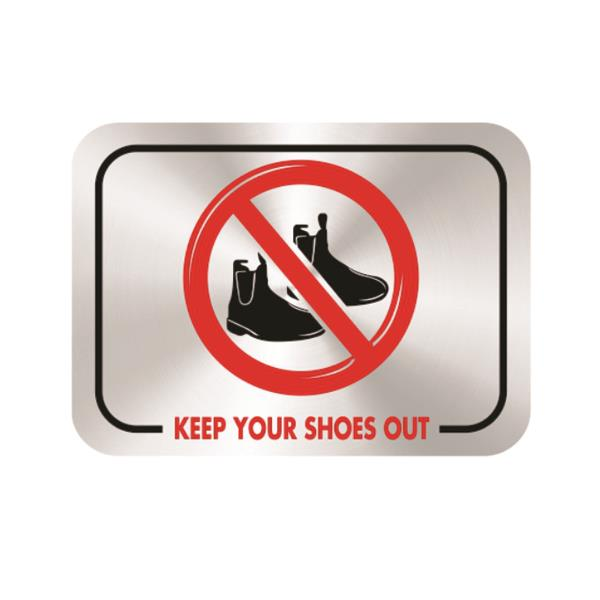 Keep Your Shoes Out
